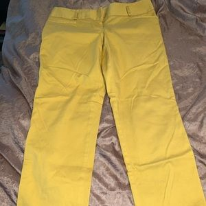 The Limited mustard yellow pants